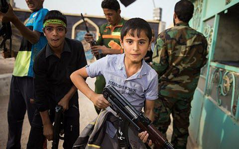 ifmat - Iran-Backed Militias in Iraq Training Children for War