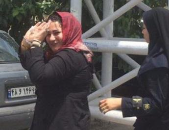 ifmat - The Female Political Prisoner Recently Framed in Evin Prison