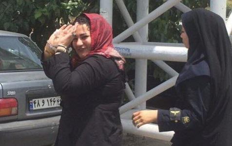 ifmat - The Female Political Prisoner Recently Framed in Evin Prison