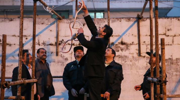 ifmat - Iran Publicly Hangs Man For Rape