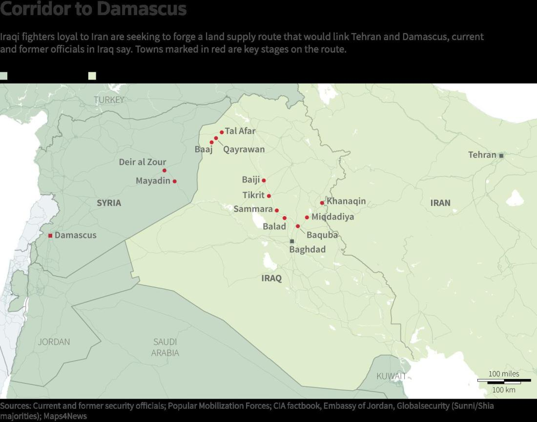 ifmat - Iran will have access through Iraq and Syria all the way to Hezbollah in Lebanon1