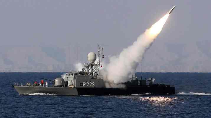 ifmat - Iranian propaganda video shows destruction of US Navy ships
