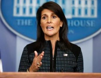 ifmat - Ambassador Haley to ensure access to nuclear sites in Iran