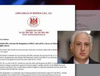 ifmat - British committee for Iran freedom welcomes inclusion of IRGC in the terrorist list