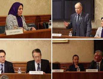 ifmat - Conference in the senate of Italy, call for justice over the 1988 massacre of political prisoners in Iran