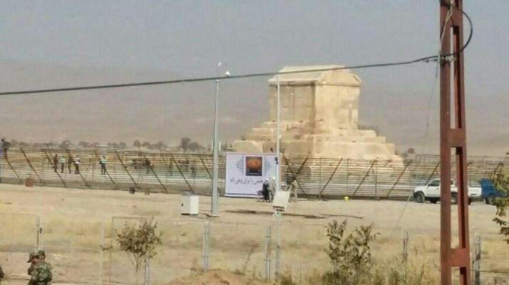 ifmat - Massive repressive measures taken by IRGC to confront the gatherings in Pasargad