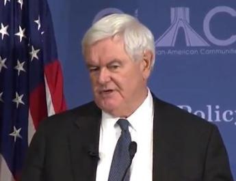 ifmat - Newt Gingrich calls for regime change in Iran
