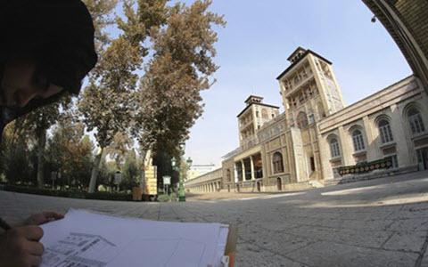 ifmat - The catastrophe of water scarcity in Golestan palace in Iran