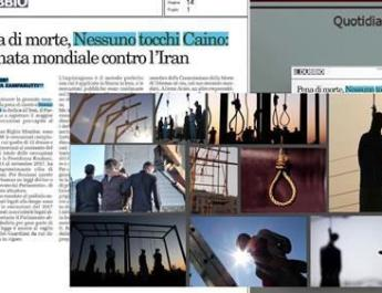 ifmat - The human rights organizations protests increasing wave of executions in Iran