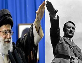 ifmat - Iran regimes Khamenei is modern Hitler