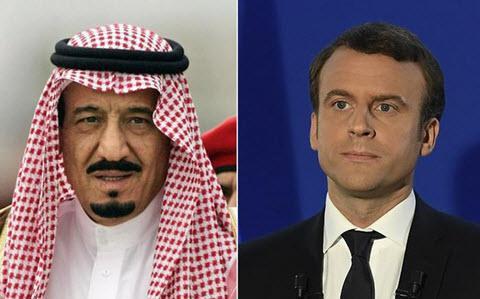 ifmat - Emmanuel Macron condemns Iran regime destructive role