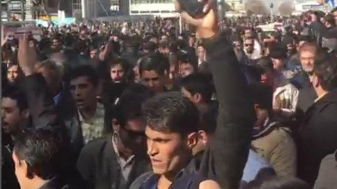 ifmat - Hundreds protest against high prices in Iran