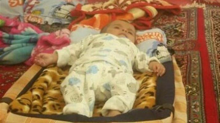 ifmat - Children dies due to frostbite in Earthquake in Iran