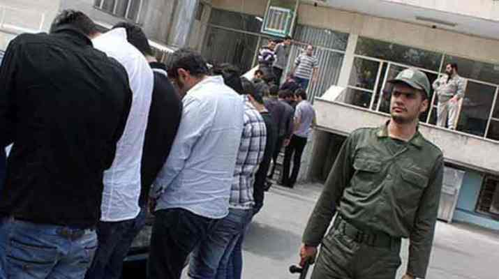 ifmat - Iranian police have arrested 36 men and women on a birthday party