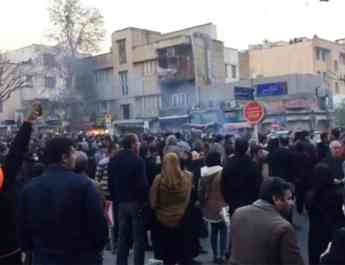 ifmat - Tens of thousands of people have protested in Iran