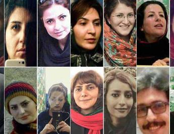 ifmat - 80 women detained on international women day in Iran