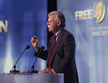 ifmat - Bolton is the only way to prevent war with Iran