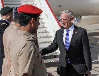 ifmat - Mattis addresses Iran arms smuggling to Houthis