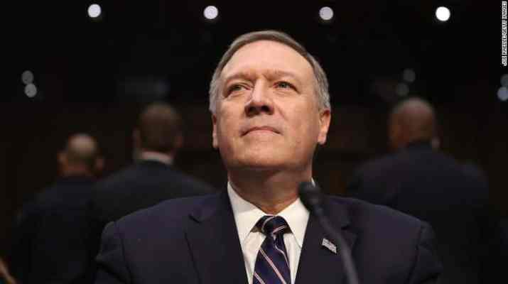 ifmat - Pompeo expected to reinforce Trump hardline instincts on