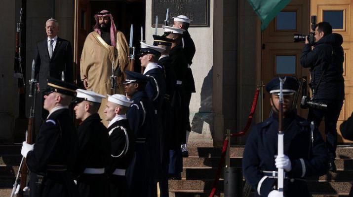 ifmat - Saudi Crown Prince on US Visit, Urges Tough Line on Iran