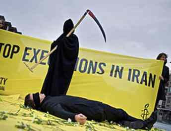 ifmat - Amnesty International says death penalty in Iran is worrying