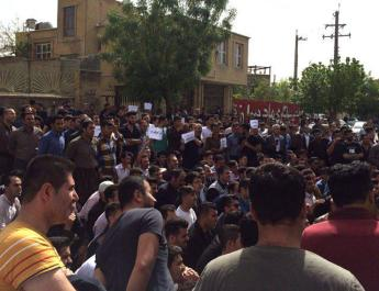 ifmat - Clashes in Iran between people and IRGC