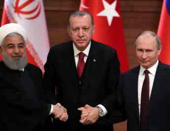 ifmat - Presidents of Russia, Turkey, Iran Meet on Syria