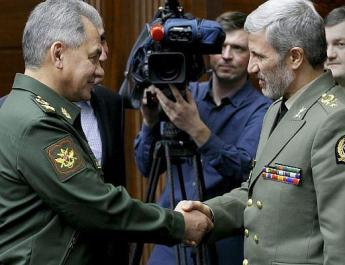 ifmat - Russian defense minister hails teamwork with Iran in Syria
