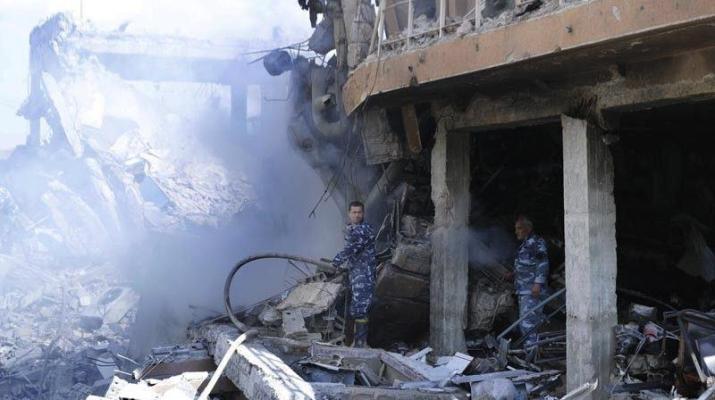 ifmat - Strike on Syria serves as warning to Iran regime