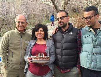 ifmat - The son of an Iranian-canadian environmentalist called on Iran to release their mother