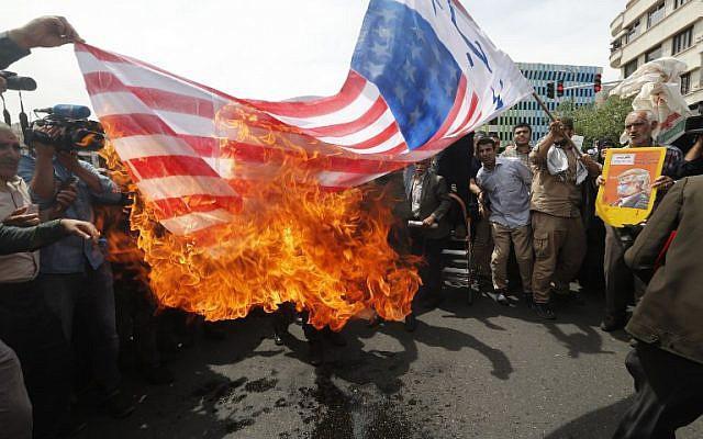 ifmat - Iran calls Trump feebleminded for moving US embassy to Jerusalem