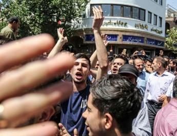 ifmat - Gunfire and clashes amid protests over water scarcity in Iran