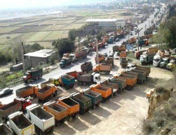 ifmat - Thrid day of strikes by truckers across Iran