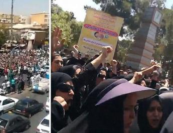 ifmat - 100000 Iranians on the streets of Iran chanting Death to dictator