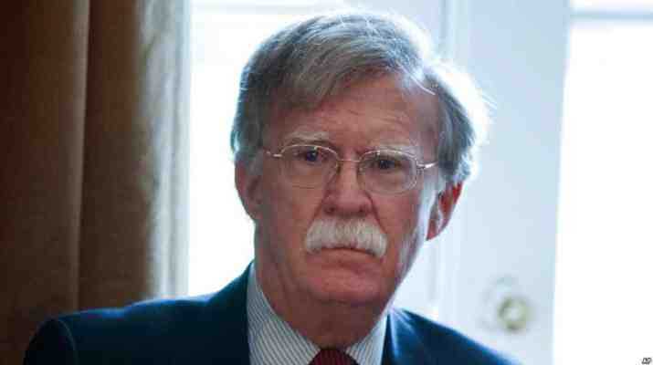 ifmat - Bolton Iran Nuclear Program at top of list in talks with Netanyahu
