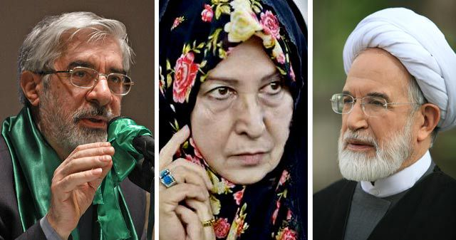 ifmat - Conflicting reports on the Iranian opposition leaders