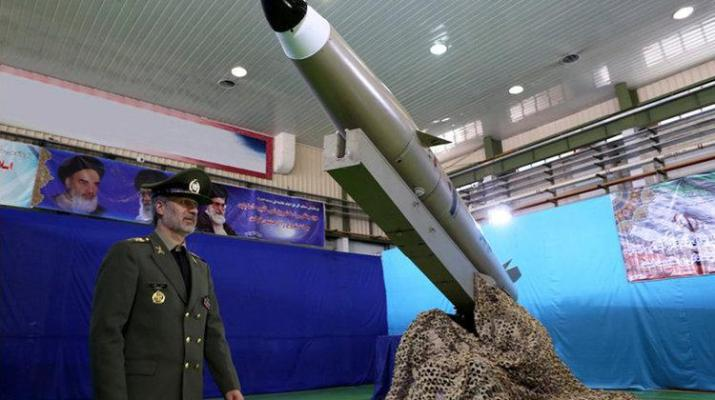 ifmat - Iran just unveiled a new ballistic missile called the Bright Conqueror