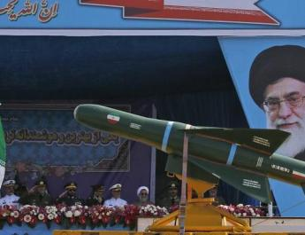 ifmat - Iran shows off bllistic missiles as tensions rise