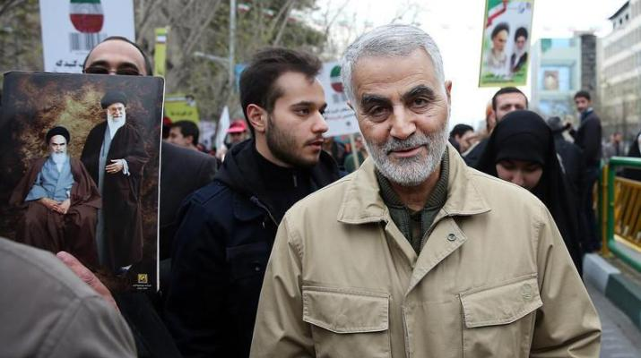 ifmat - Iran's Qasem Soleimani at heart of malign activity in Mideast