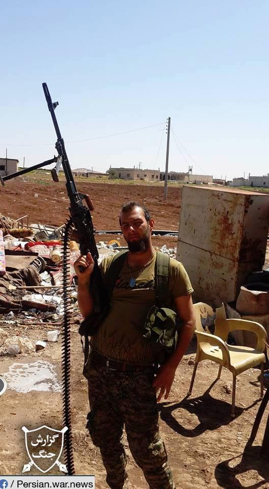 ifmat - Iraqi fighters are deployed to Syria from Iran2
