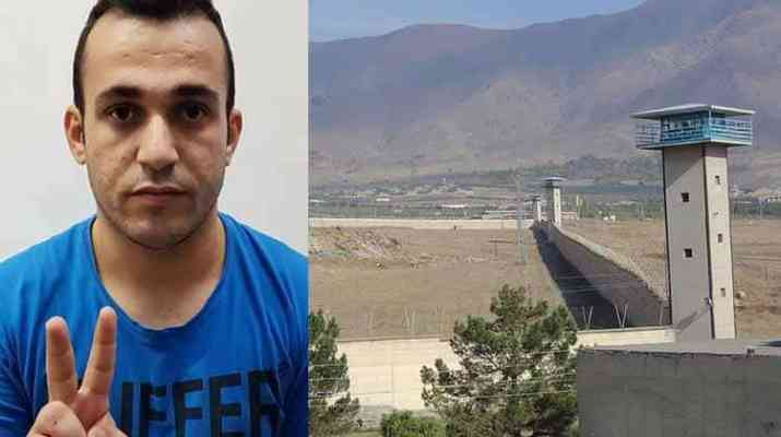 ifmat - Kurdish political prisoner sews lips together demanding basic rights