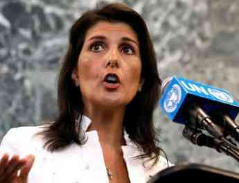 ifmat - Nikki Haley wanrs about Iran missile program