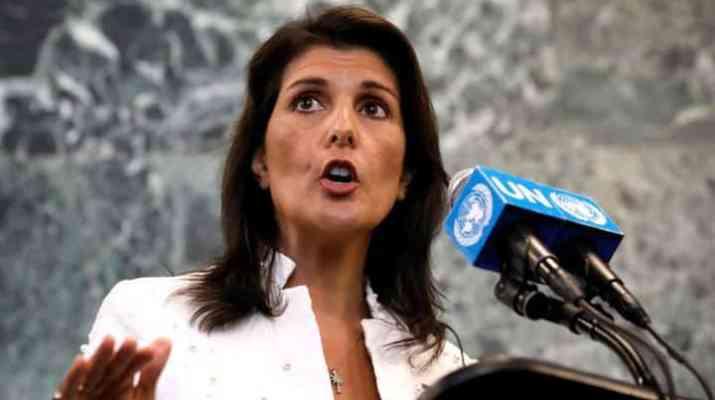 ifmat - Nikki Haley wanrs about Iran missile program