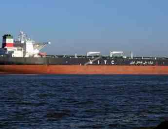ifmat - Iranian tankers stranded by threat of US sanctions