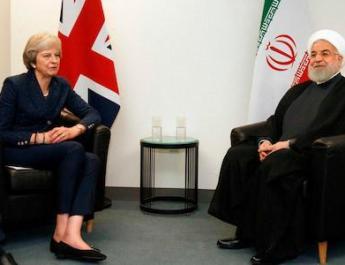 ifmat - Theresa May urges Iranian president to free Nazanin Zaghari-Ratcliffe