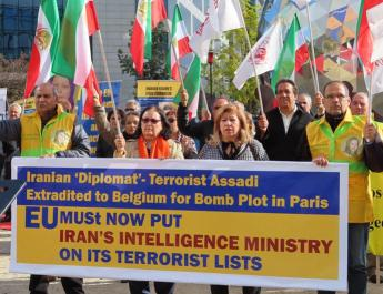 ifmat - Anti-Iran Regime protests in Europe