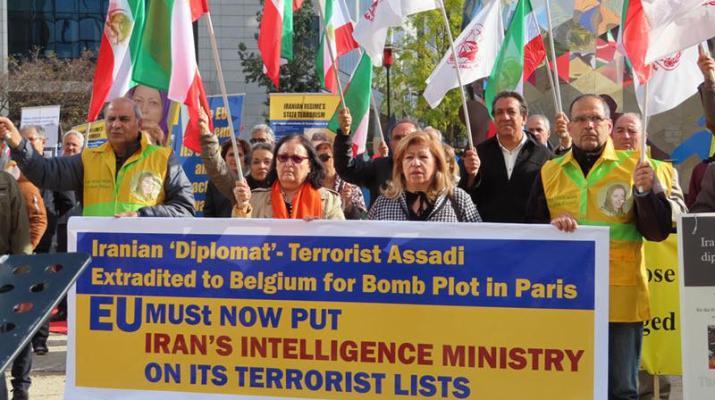ifmat - Anti-Iran Regime protests in Europe