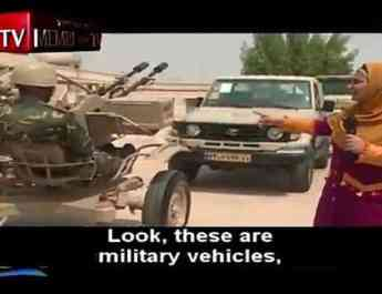 ifmat - Children chant about jihad while standing next to missiles on Iranian kids TV show