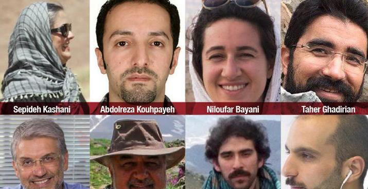 ifmat - Iran charges environmentalists with national security crimes