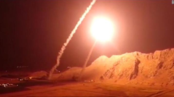 ifmat - Iran fires missiles into Syria - Retaliates for deadly parade attack